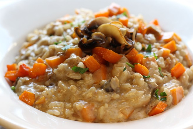 Butternut and Porcini Risotto