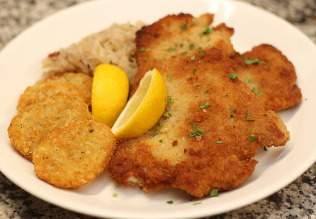 Octoberfest pork schnitzel copy
