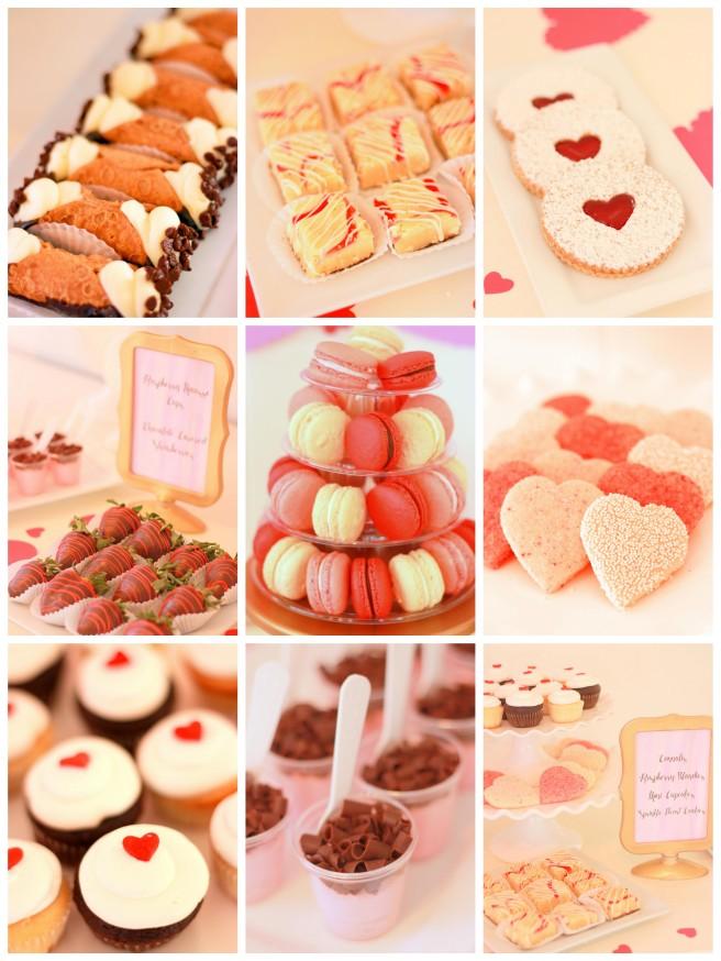 Cafe Pierrot Valentine's Day Collage