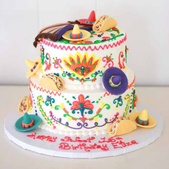 4 11 mexican theme cake (6)