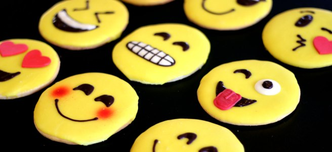 Emoji themed Custom Cakes Cookies and Cupcakes from New Jersey bakery, Cafe Pierrot